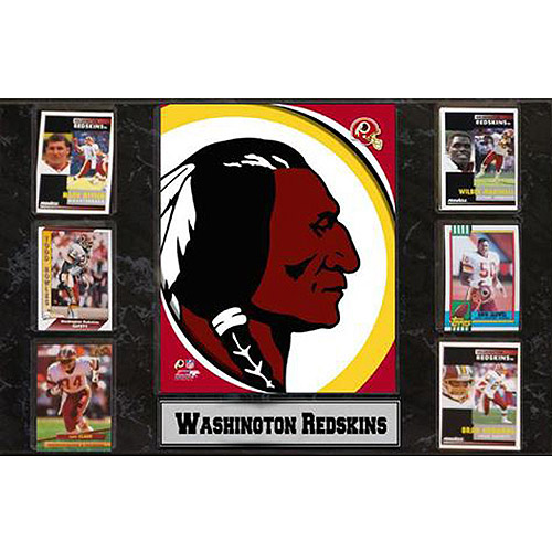 NFL Washington Redskins 6-Card Plaque, 13x20
