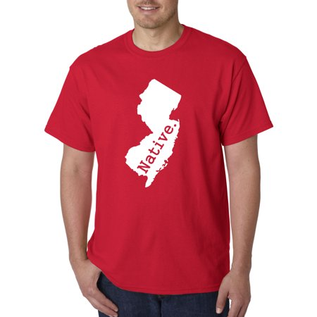 Exclusive Statue (677 - Unisex T-Shirt New Jersey Native Exclusive State Collection Usa)