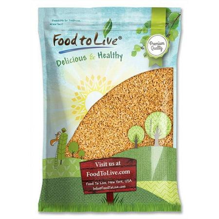 Whole Freekeh, 10 Pounds ― Whole Grain, Vegan, Roasted Green Wheat, Healthy Ancient Supergrain Farik, High in Protein and Dietary Fiber, Bulk ...450 x 450 jpeg 43kB