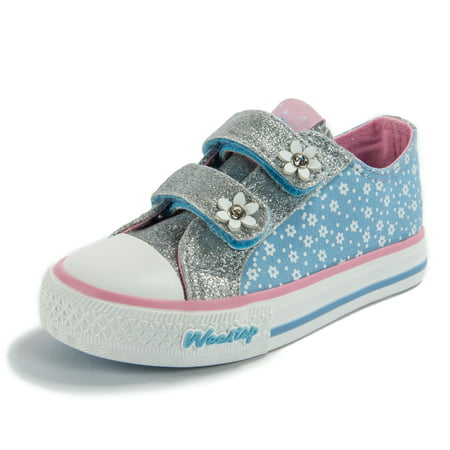 Weestep Toddler Little Kid Girls Low Top Sneaker](Butterfly Shoes For Kids)
