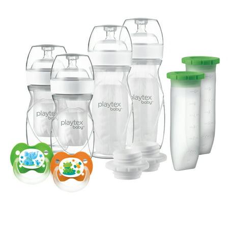 Playtex Baby Nurser with Drop-Ins Liners Baby Bottle Newborn Gift Set