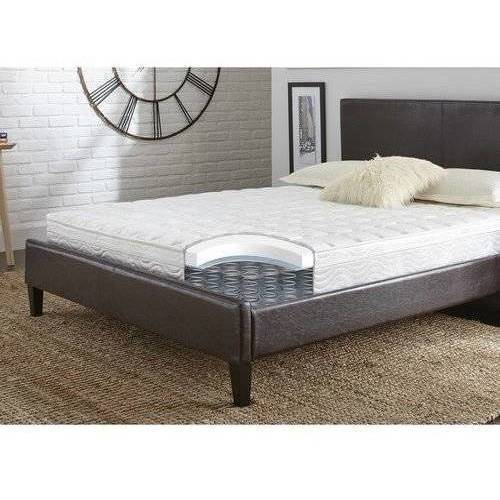 "Contura Flex 8"" Medium Firm Pillow Top Quilted Support Foam and Innerspring Hybrid Mattress Bed, Multiple sizes"