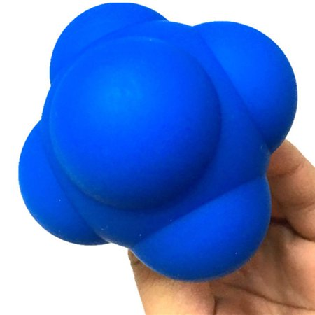 6 Bulges Eye Hand Coordination Ability Training Ball Silicone Rebound Reaction Practice Tool - image 3 of 9