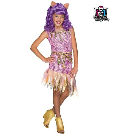 Monster High Haunted Clawdeen Wolf Costume for Kids for $<!---->
