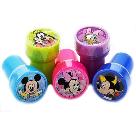 12 Mickey Mouse and Friends Authentic Licensed Self Inking Stampers - Self Inking Stamper