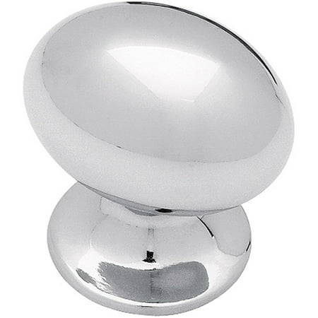 Brainerd 35mm Large Football Knob, Polished Chrome