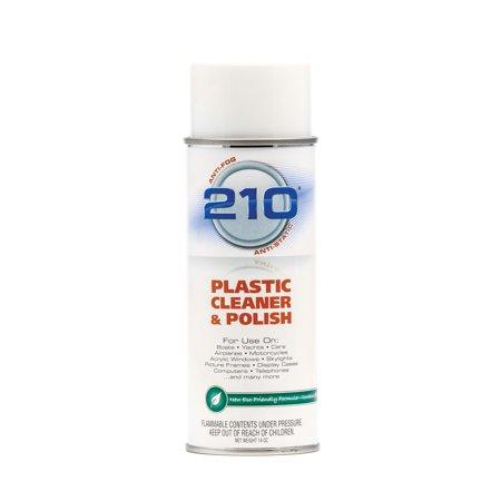 Camco 40934 210 Plastic Cleaner/Polish - 14 Oz. Aerosol