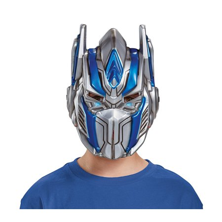 Disguise Optimus Prime Movie Child Mask, One Size (Smiley Movie Mask)
