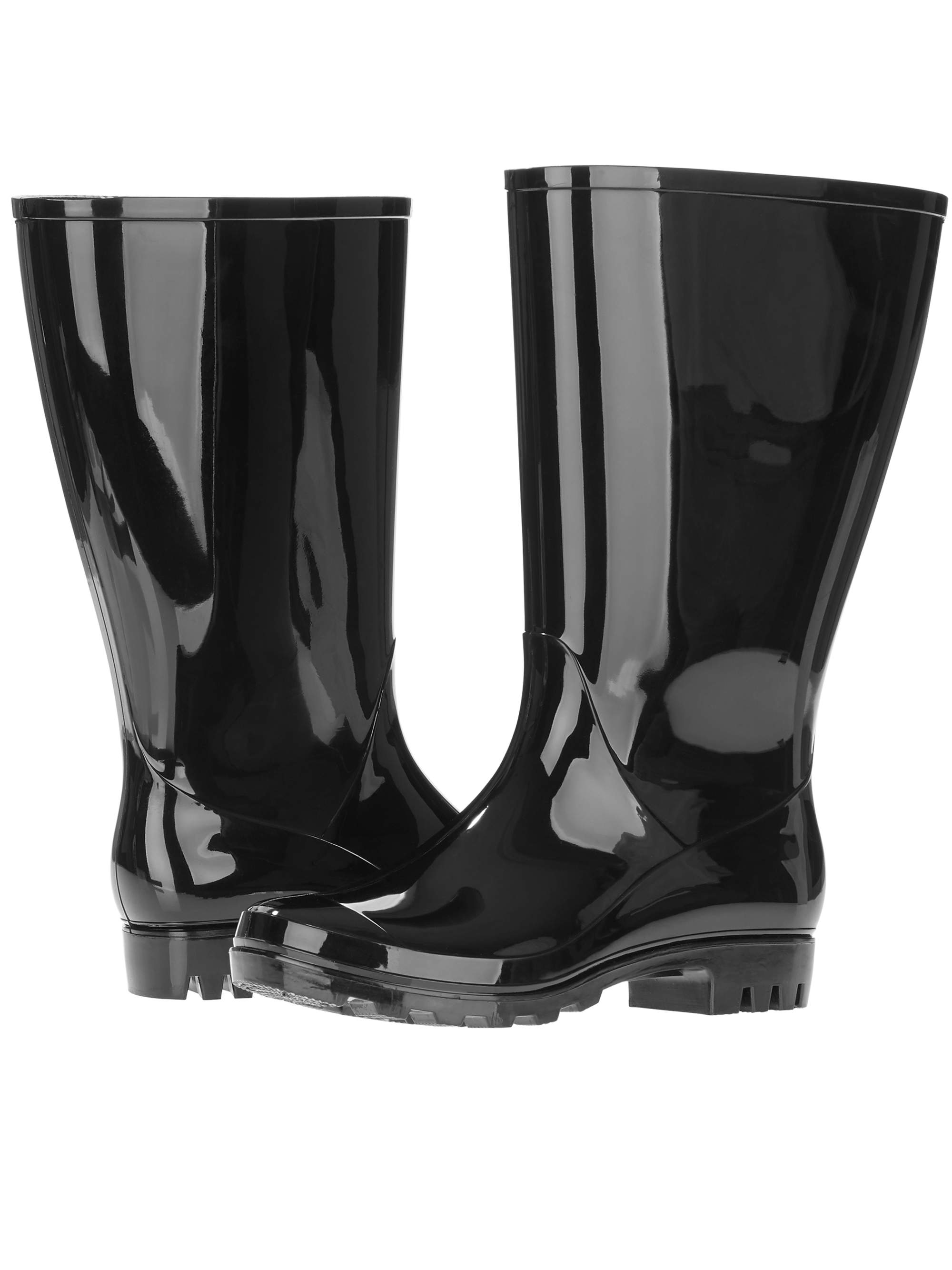 2efb6cfc4b0 Time and Tru Women's Wide Calf Rain Boot