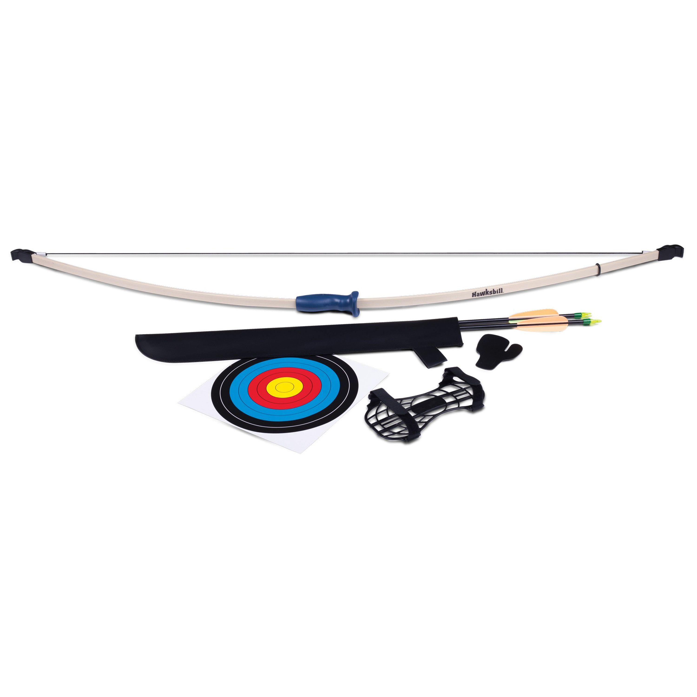 Crosman Hawksbill Long Bow Archery Kit by Crosman