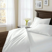 Better Homes and Gardens 400 Thread Count Solid Egyptian Cotton True Grip Bedding Sheet Set