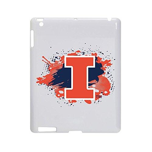 Illinois Fighting Illini - Case for iPad 2 / 3 - White