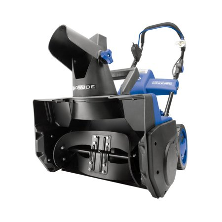 Snow Joe iON18SB-HYB Hybrid Single Stage Snow Blower | 18-Inch | 40 Volt | 13.5 Amp | Brushless