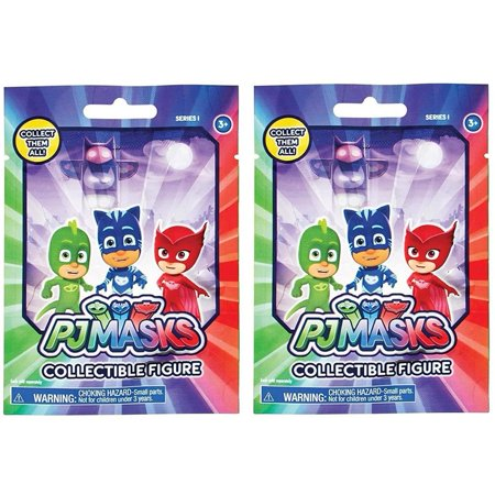 PJ Masks Blind Mystery Bag Collectible Figures 2-Pack Series 1 Characters Just Play