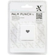 """Small Palm Punch-Traditional Heart, 3/8"""""""