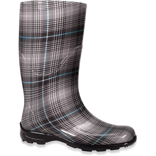 Lastest Western Chief Seattle Plaid Womens Size 8 Gray Rain Boots