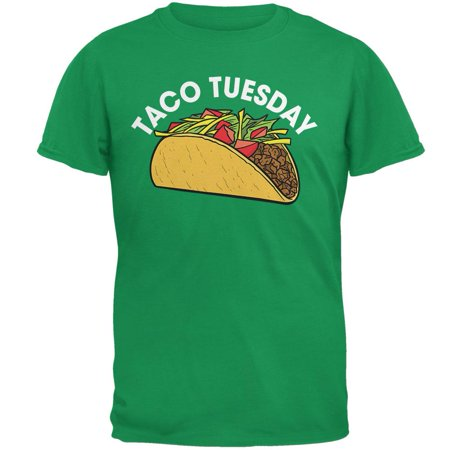 Cinco de Mayo - Taco Tuesday Irish Green Adult T-Shirt