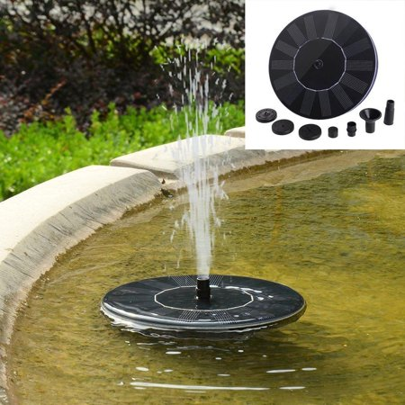 Black Pearl Medium Point Fountain (Ohuhu Solar Powered Bird Bath Fountain Pump, Outdoor Water Fountains For Pool, Garden, Aquarium (black) )