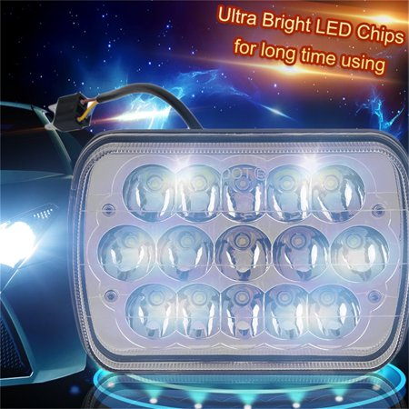 2pcs Pair Super Bright Waterproof Led Car Headlights Hid Light Bulbs