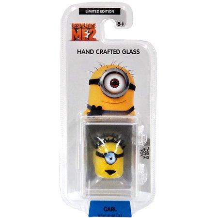 Despicable Me Glassworld Carl Minion Glass Figure - Carl Minion