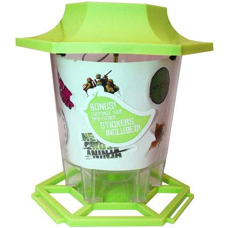 Midwest Glove TM7OK-K-00-6 Nickelodeon Turtles Bird Feeder (Extra Large Hummingbird Feeder)