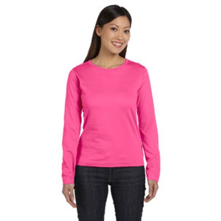 b0a0fb629 LAT Ladies  Long Sleeve Premium Jersey T-Shirt 3588 - Walmart.com