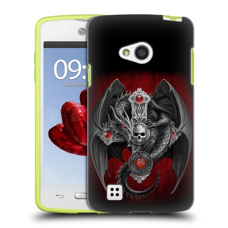 OFFICIAL ANNE STOKES TRIBAL HARD BACK CASE FOR LG PHONES 2 - Skull Candelabra