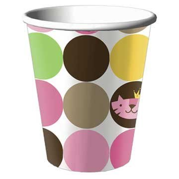 Queen of the Jungle Paper Cups 8ct