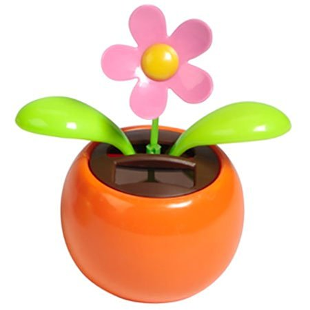 Solar Dancing Flower - Assorted Colors - Solar Dancing Halloween
