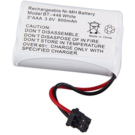 3.6v Dc 800 Mah Battery (TOPCHANCES Rechargeable Replacement Bt-446 Battery for Uniden cordless phone DC 3.6V 800 mAh & BT-1005 BT1005 )