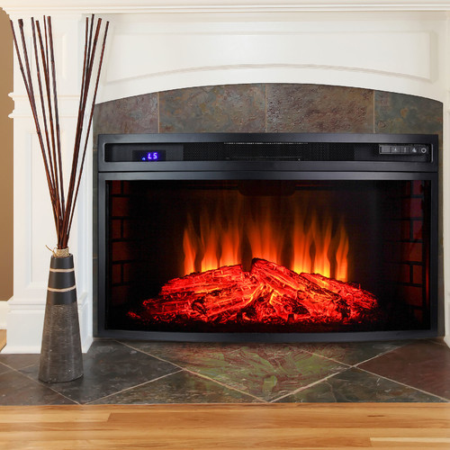 AKDY Electric Fireplace Insert Walmart