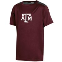 Youth Russell Athletic Maroon Texas A&M Aggies Color Block T-Shirt