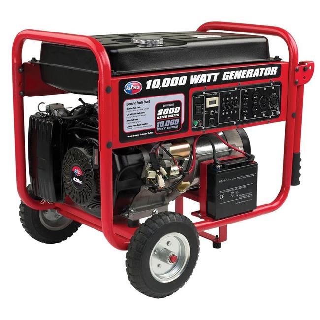 Green-Power GPG10000EW 10000 Watt Gasoline Generator With Electric Start by Green-Power