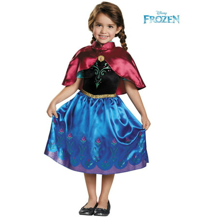 Disney Frozen Traveling Anna Classic Toddler Costume](Disney Frozen Adult Costumes)