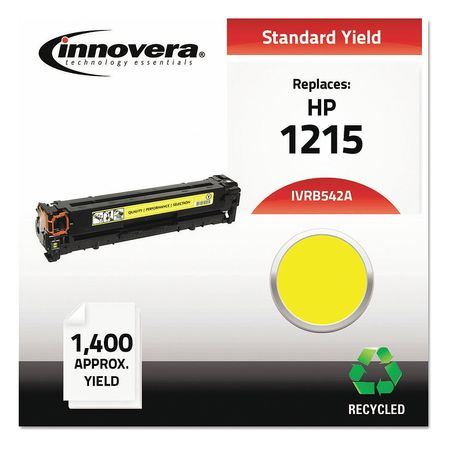 Innovera Remanufactured CB542A (125A) Laser Yellow Toner Cartridge