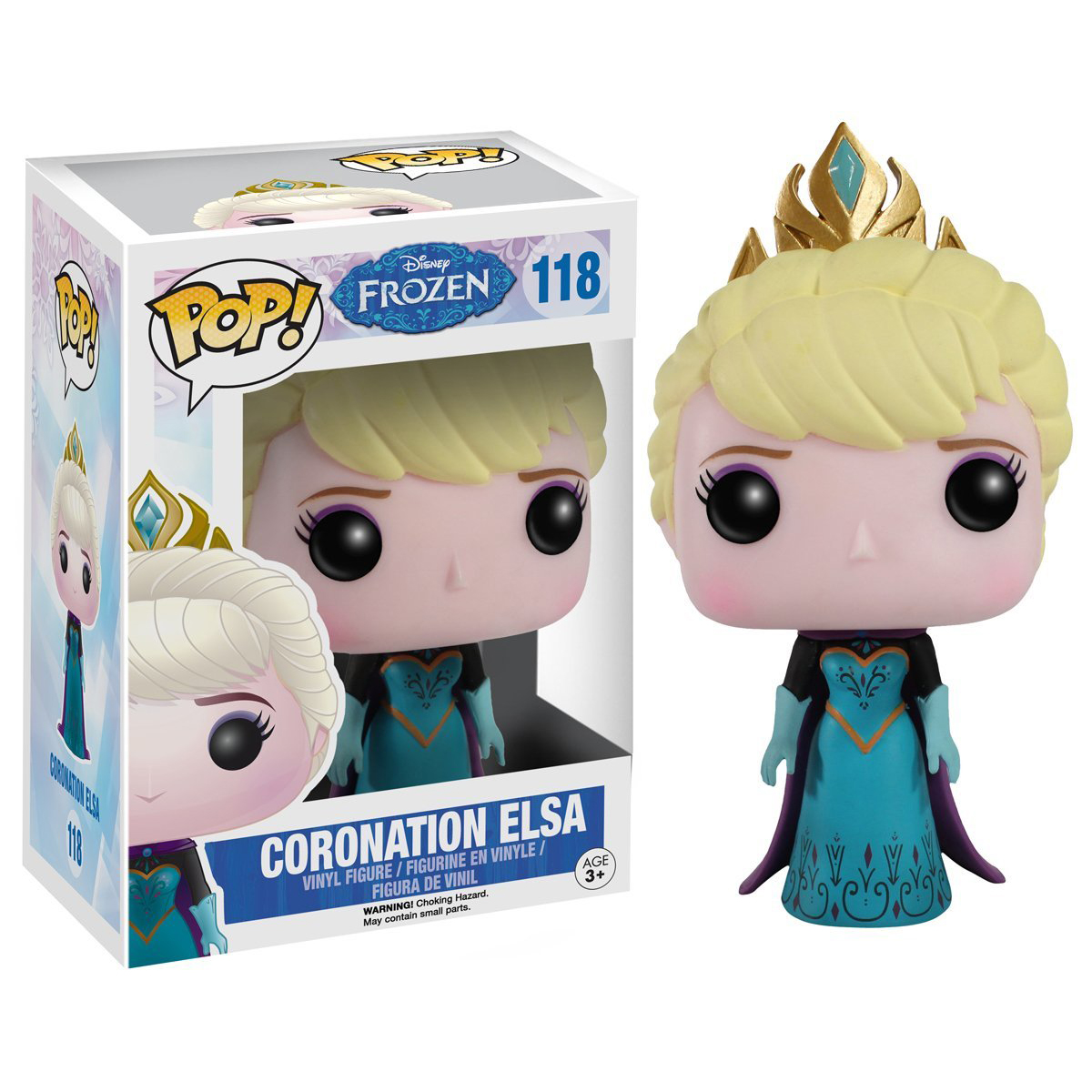 Funko POP Disney Frozen - Coronation Elsa Action Figure
