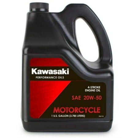 Kawasaki 4-Stroke Motorcycle Engine Oil 20W50 1 Gallon K61021-301