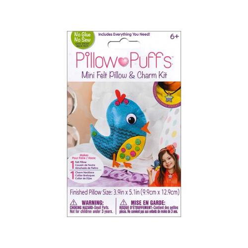 Darice Pillow Puff Felt Kit Mini Pillow Bird