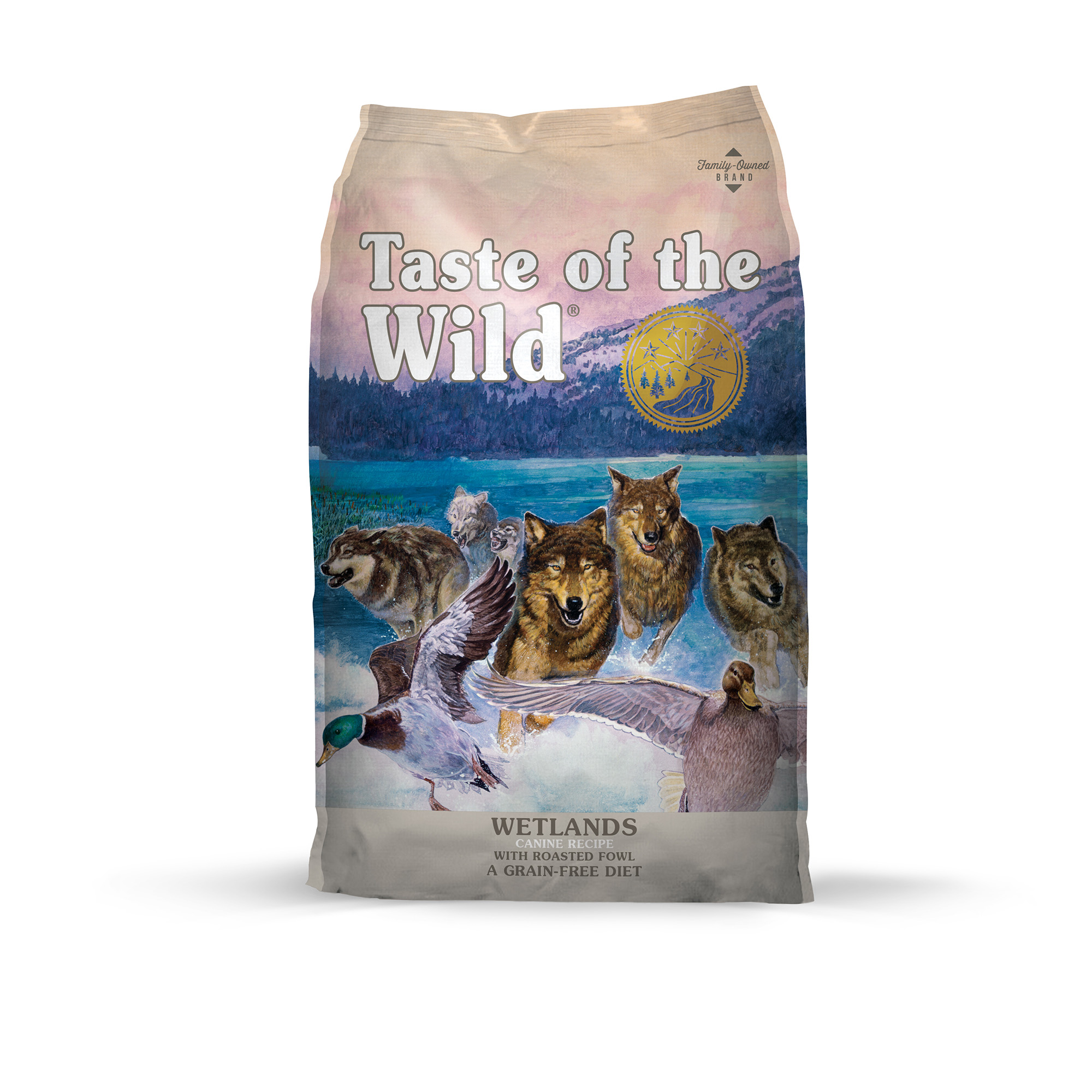 Taste of the Wild Wetlands Grain-Free Dry Dog Food with Roasted Duck 30lb
