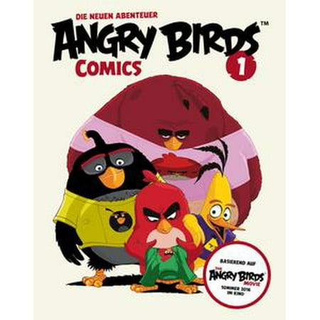 Angry Birds – Die neuen Abenteuer 1: Red sieht rot (Comic zum Film) - eBook - Angry Birds Halloween Comic Book