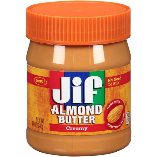 Jif Creamy Almond Butter, 12 oz