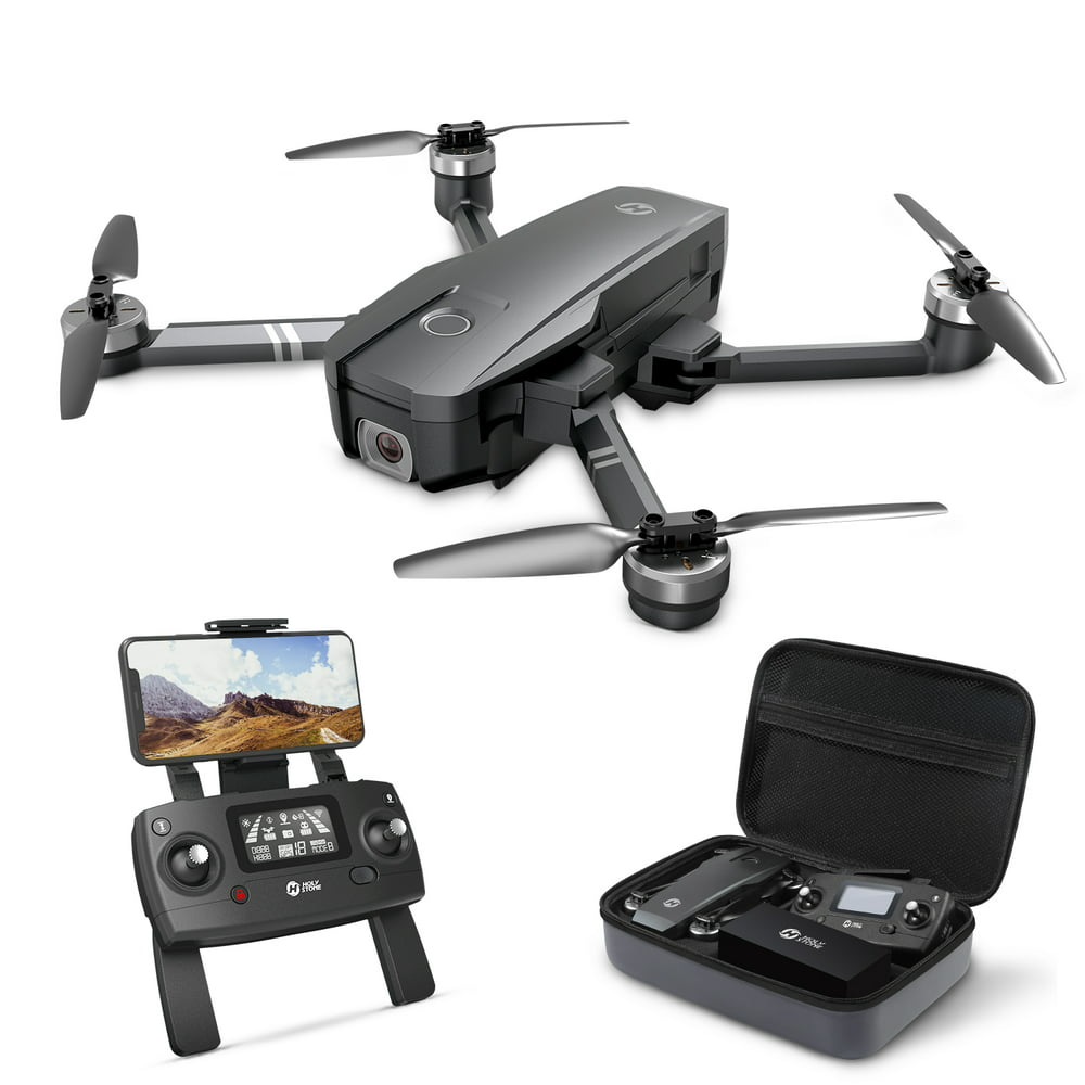Holy Stone HS720 Foldable Drone with GPS 4K UHD Camera for Adults Quadcopter with Brushless Motor 26 Mins Flight Time Includes Carrying Bag