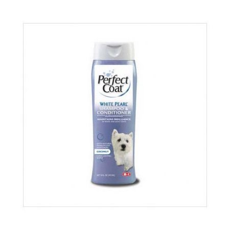 8 in 1 perfect coat white pearl shampoo, 16-oz (8in 1 Grooming)