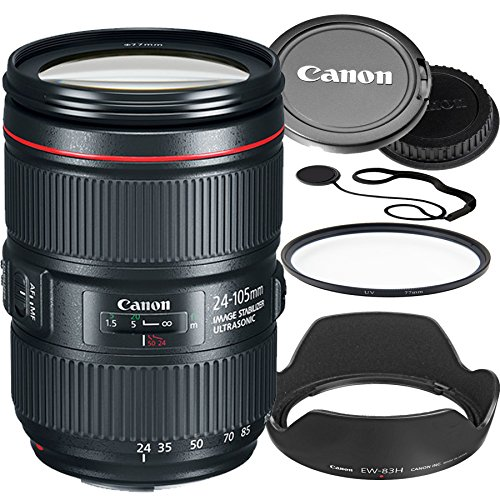 Canon EF 24–105mm f/4L IS II USM Lens For Canon EOS DSLR ...