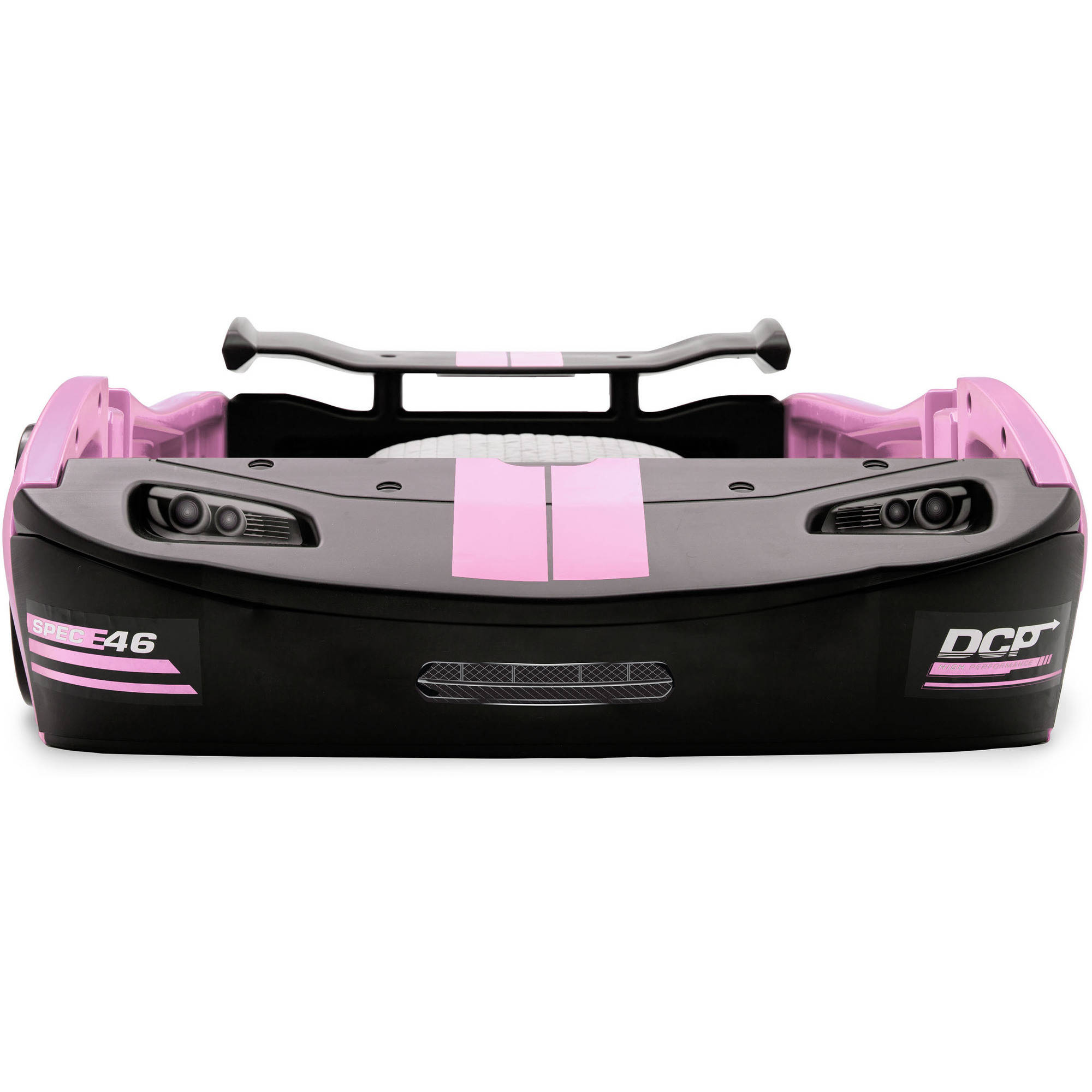 Delta Children Turbo Race Car Twin Bed, Black - Walmart.com