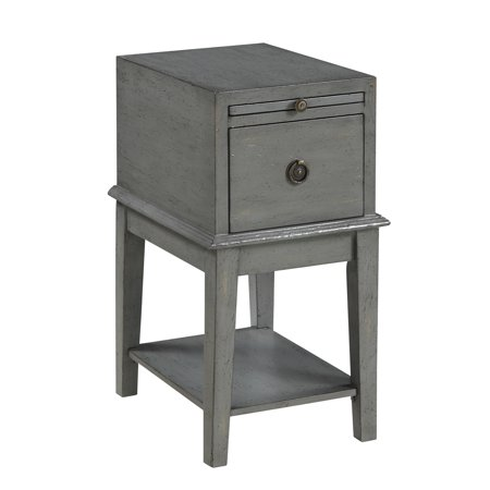 Coast To Coast 70804 One Drawer Chairside - Classic Chairside Cabinet