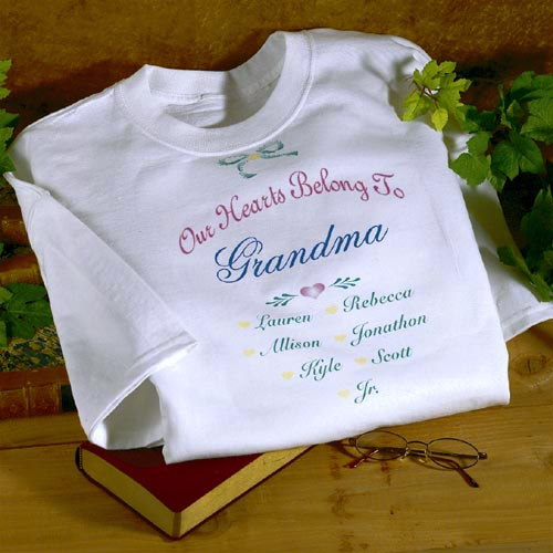 Personalized Our Hearts Belong to... T-Shirt