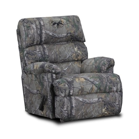 Wondrous Chelsea Home Furniture Duck Commander Camo Polyester Recliner Dailytribune Chair Design For Home Dailytribuneorg