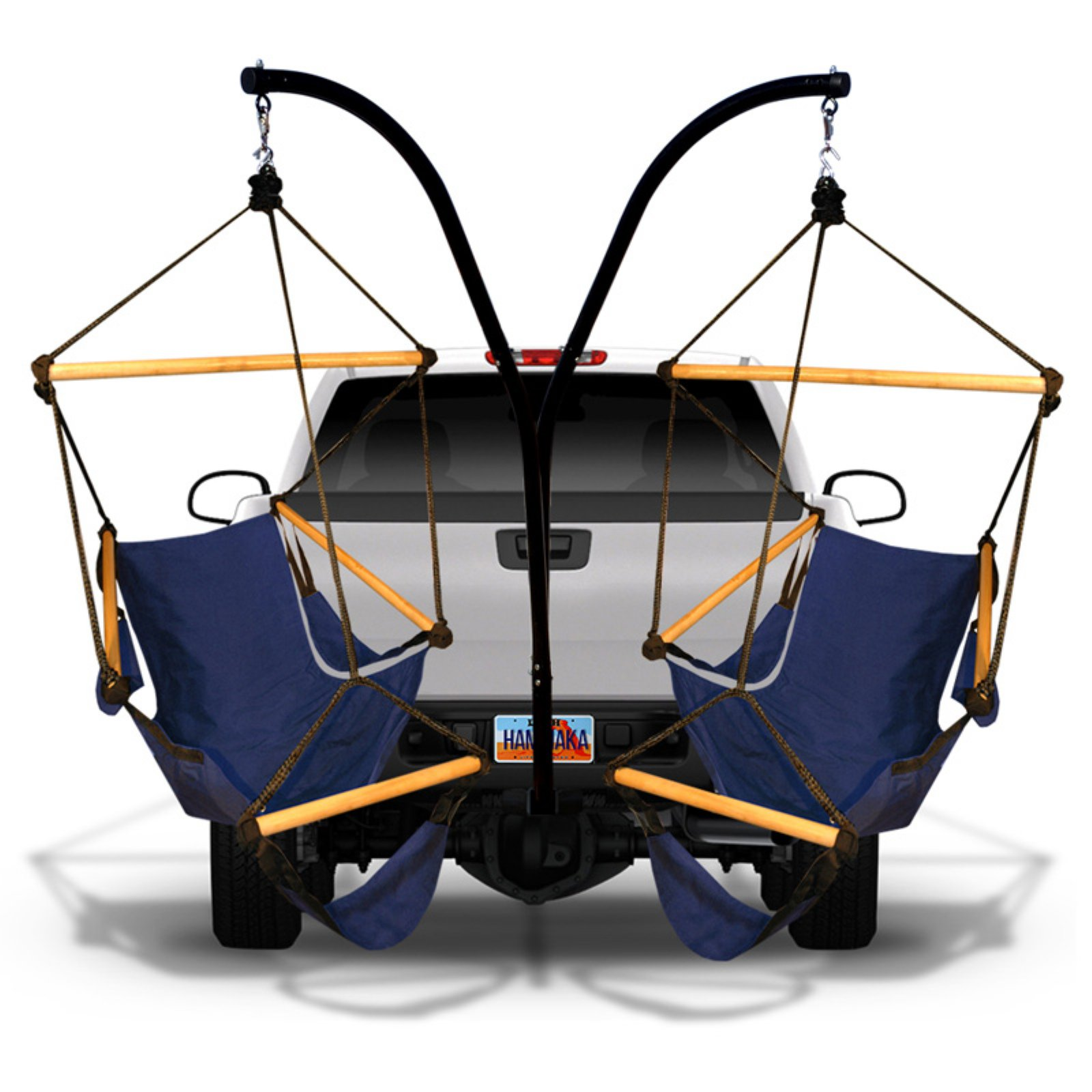 Hammaka Cradle Hammock Chairs and Parachute Hammock with Hitch Stand