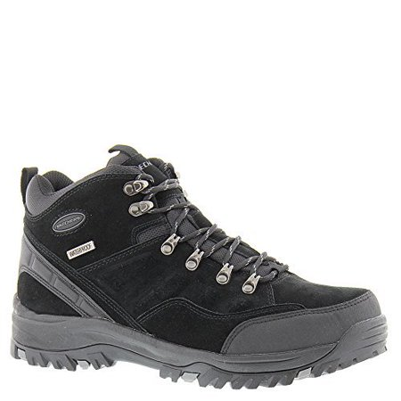 105ccae7938 Skechers Men's Relaxed Fit Relment Pelmo Hiking Boot,Black